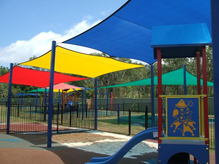 School Playground And Public Area Shades Airlie Sail